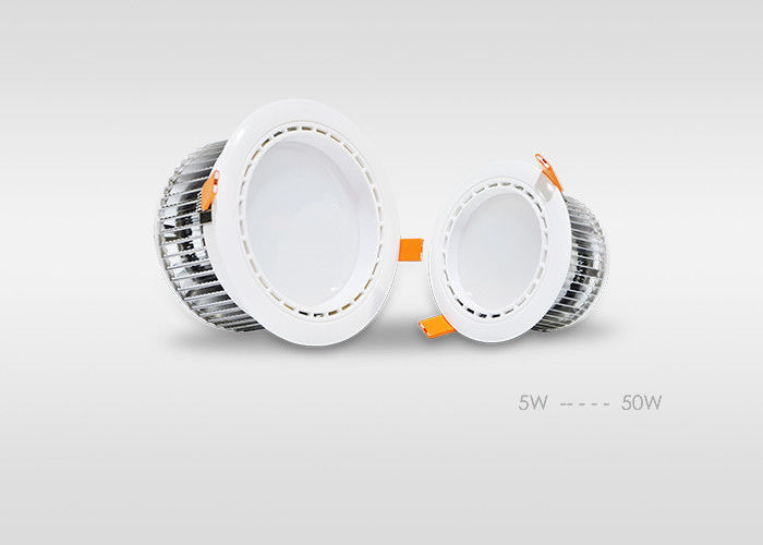 5W High Quality Sumsang 5630 SMD Dimmable LED Downlights With Fin Type Heat Sink